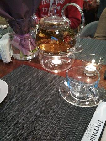 Terrassa: Прекрасный чай с персиком