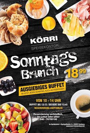 KÖRRI Speisekontor: Sonntags Brunch Buffet