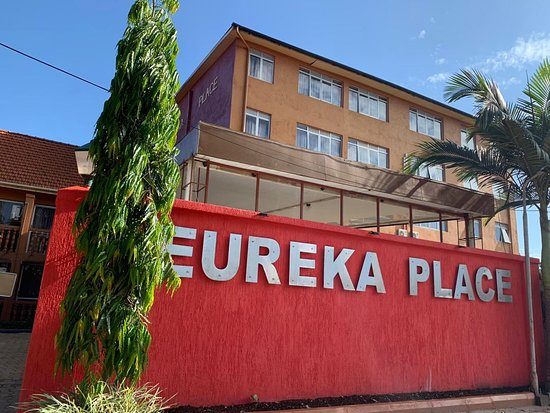 Eureka Place Kampala: Day View of the Hotel.