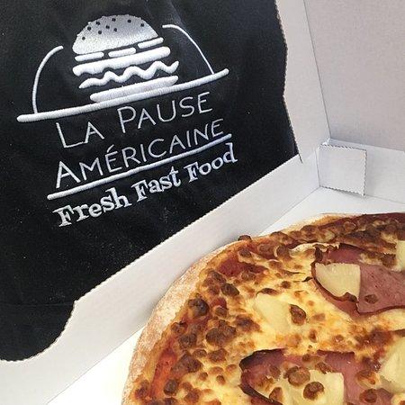 La Pause Americaine: Pizza Hawaii -  La Pause Américaine - St Seurin sur L'Isle