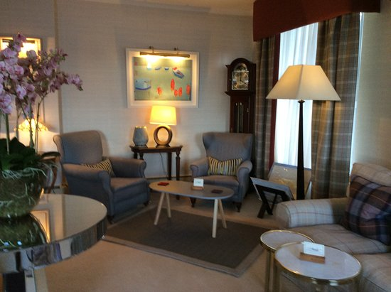 Port Appin, UK: One of the lounges