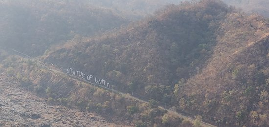to get idea about height - Picture of Statue Of Unity