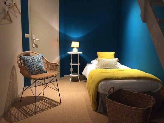 Nonant, Francia: Chambre familiale Guillaume, 2 chambres en 1