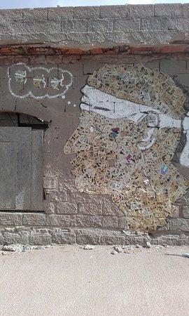 Argentiera, إيطاليا: CREATO CON LE PAGINE DI VECCHI FUMETTI- MINIERA DELL'ARGENTIERA-SASSARI-SARDEGNA-FOTO MAURO PORTO TORRES-