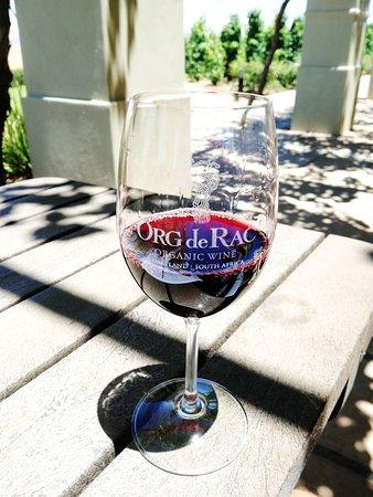Piketberg, แอฟริกาใต้: Glass of Red Wine