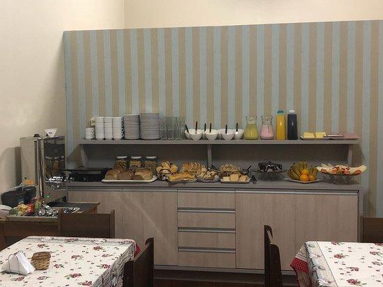 Chapeco, SC: nosso café da manhã