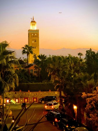Riad Wow: View from terrace