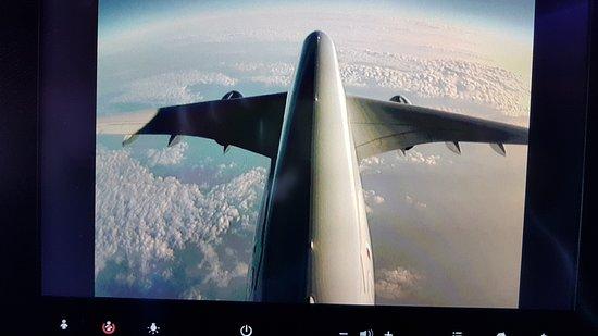 Qatar Airways: cámara externa