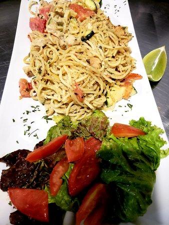 The Buccaneer: Homemade Italian pasta.