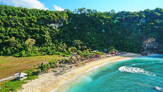 Toyapakeh, Indonesia: Here we come, Atuh Beach