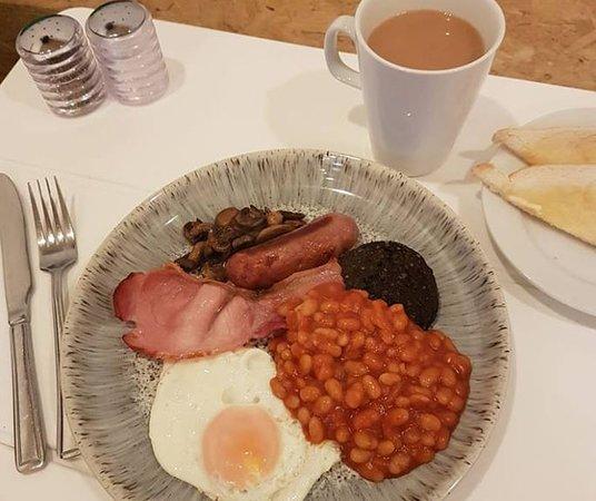Torridge, UK: Breakfast available weekends 10am-12pm