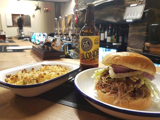 Torridge, UK: Bar food