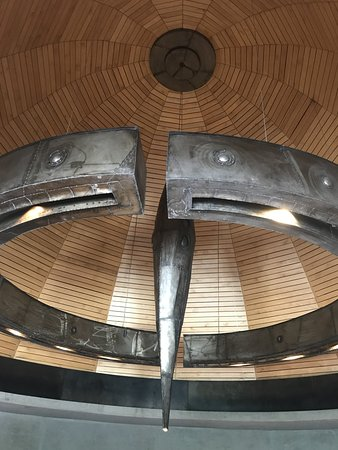 Bodega Zuccardi Valle de Uco: Esculturas de Piedra Infinita