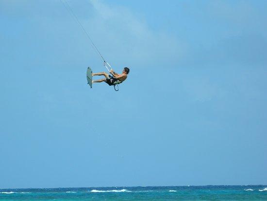 Little Corn Island, Nicaragua: Jump