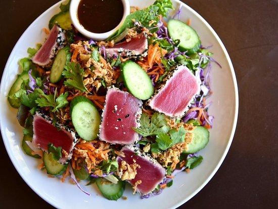 Sesame Seared Ahi Salad