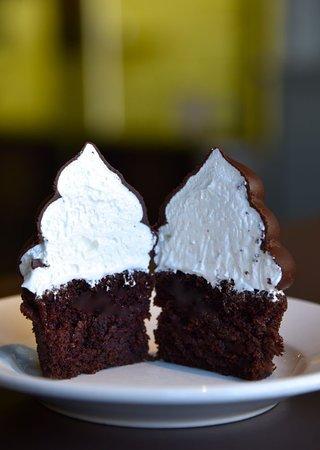 High Hat Cupcake