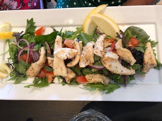 Cafe Cinema: Calamari Salad