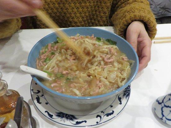 China-Restaurant Mandarin: 肉麺