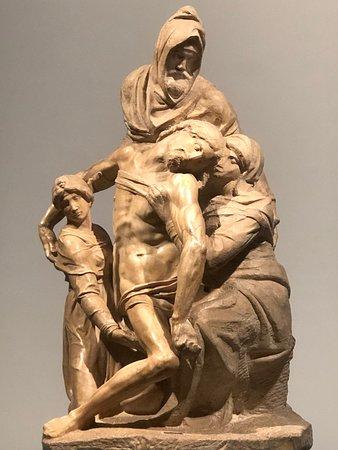 Michelangelo's last pieta