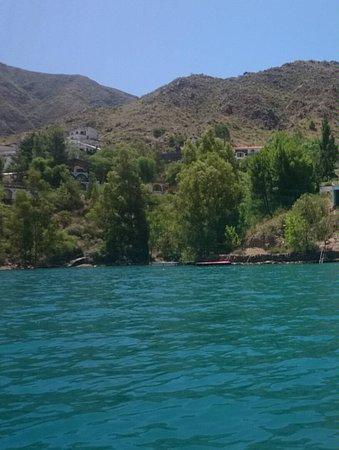 Los Reyunos Dam: Kayak