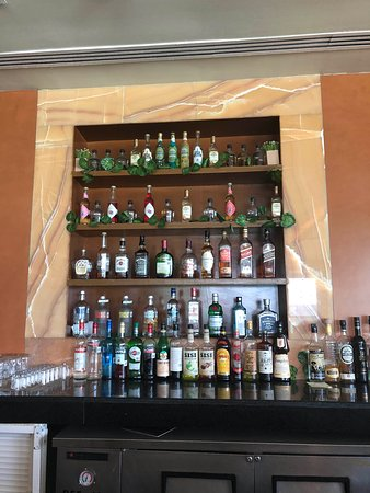 Available drinks at bar part 1
