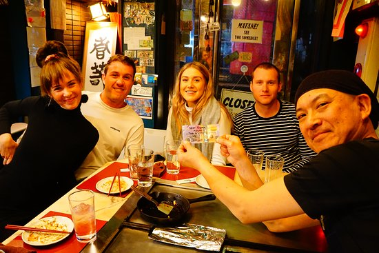 Teppan Tavern Gion Tenamonya: Happy night with you! Thank you very much for coming from Australia! And thank you very much for your comment on your country's bill! See you someday! wish your HAPPINESS from KYOTO!