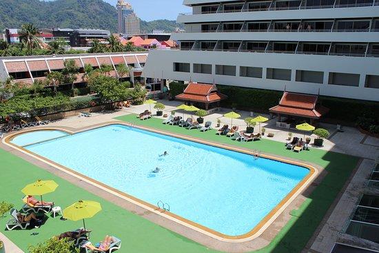 Main building pool