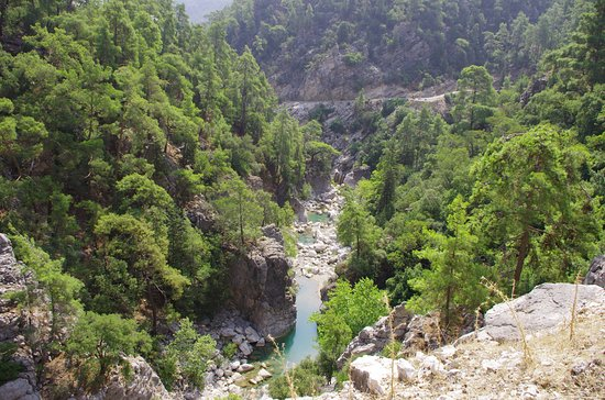 Goynuk, Turkey: каньон
