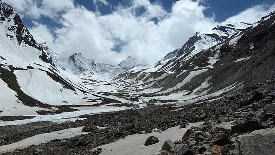 Kinnaur District, India: Baspa Glacier moraine zone