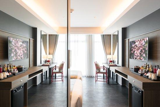 Bedroom detail - Deluxe Room
