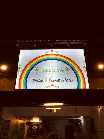 Trapizza Western and Cambodian Cuisine: Trapizza restaurant