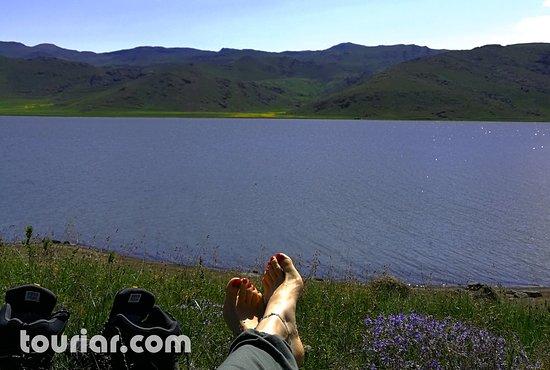 Neor Lake , Ardabil Province