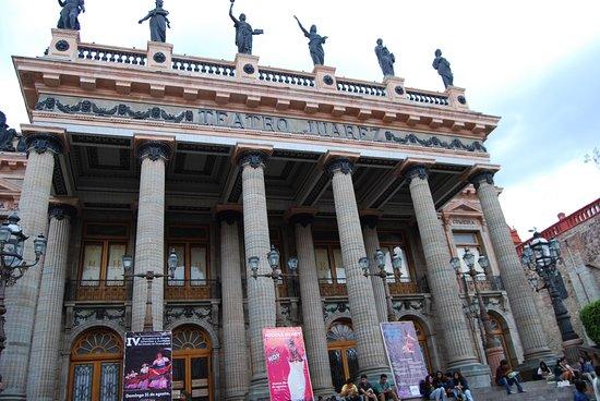 Guanajuato: teatro Juarez