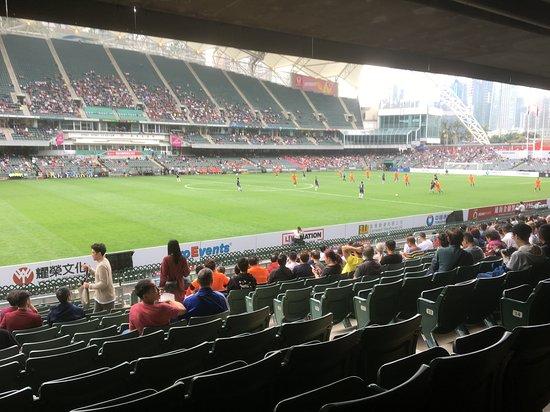Hong Kong Stadium: Football match