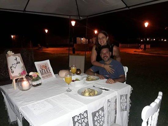 Chilca, Perù: pareja aniversario