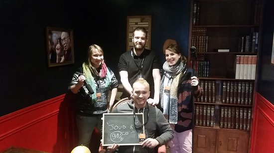 Déliroom - escape game experience