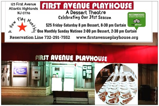 First Avenue Playhouse Dessert Theatre