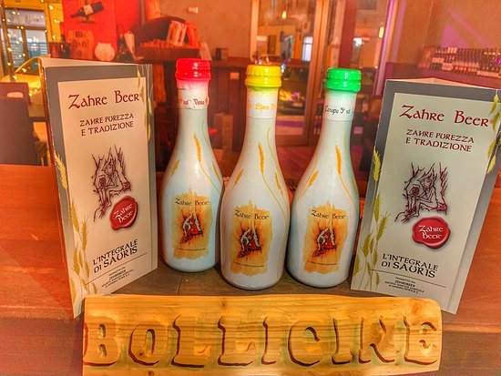 Finalmente sono RI arrivate le nostre birre artigianali... ZAHRE BEER 🍻🍺😍 La Rossa ❤️ La Gialla 💛 e la Verde 💚 E tu che colore , o meglio , che gusto scegli..?! Ti Aspettiamo !!!