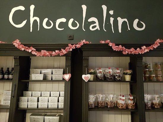 Brujas, Bélgica: Chocolalino