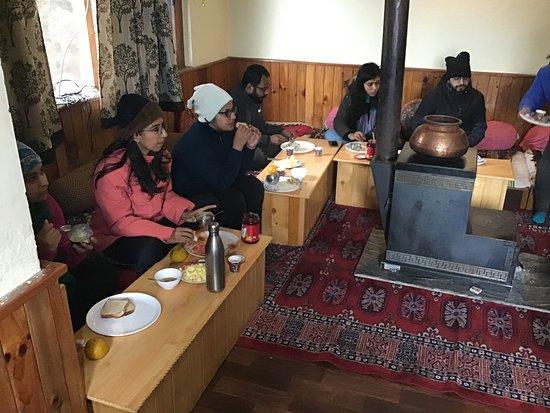 Naggar Winter photo of 2019 around HBA Homestay Naggar  Manali Himachal Pradesh India