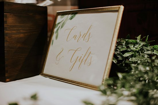 The Lobby: Wedding reception decor - Photo Credit: Emily Elizabeth Photo