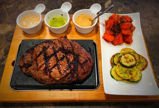 Cisco, TX: Steak on a Stone!   Every Saturday Night we serve our Steak on a Stone special.  Your steak comes out rare on a 500 degree lava stone that continues cooking your steak to your liking!  You can cook it one bite at a time even!