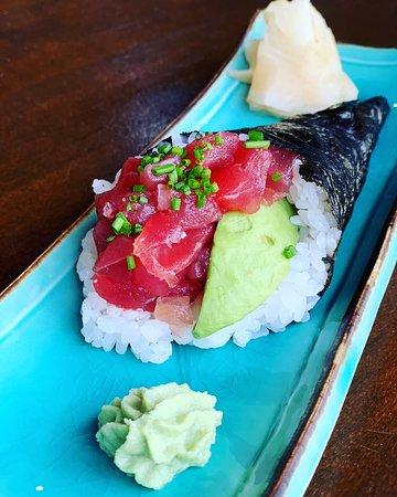 Yano Sushi: Tuna Temaki