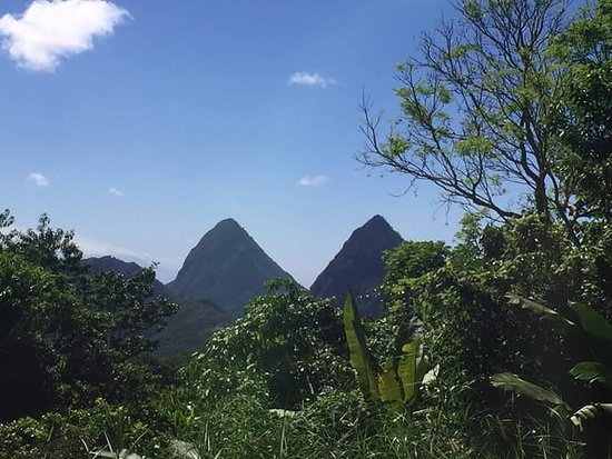 Jan's Waterfront Taxi and Tours: Petit Piton and Gros Piton