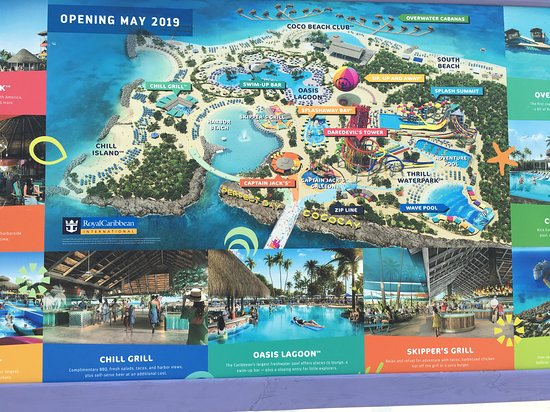 coco cay bahamas map Future Plans For The Island As Of February 2019 They Were Still coco cay bahamas map