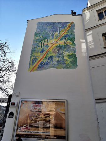 Fresque La Croisée des Chemins