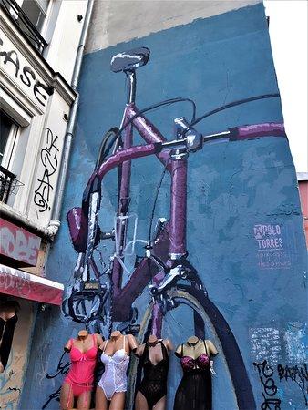 Fresque Le Velo