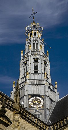 KLM Royal Dutch Airlines: Carillon, St. Bavo Kerk, Haarlem.