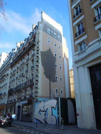 Fresque Venise sur Seine