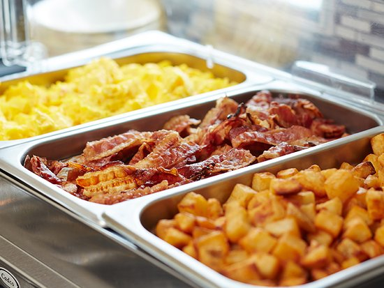 Start your day off with a great hot breakfast